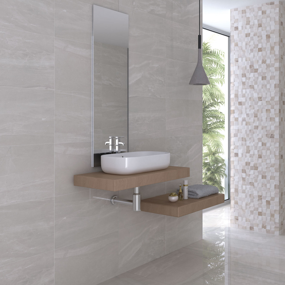 Wall Tile For Bathrooms: Atrium Kios Perla Glazed Porcelain Wall Tile