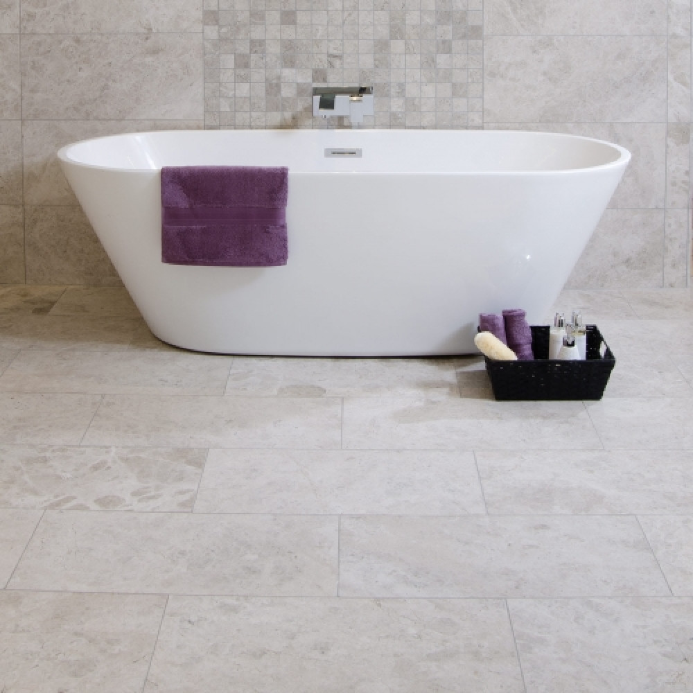 Silver Beige Honed Wall Floor Tile