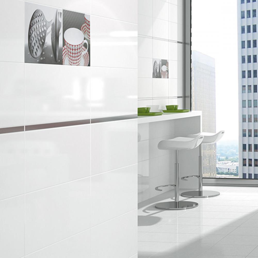 alaska blanco gloss wall tile. Black Bedroom Furniture Sets. Home Design Ideas
