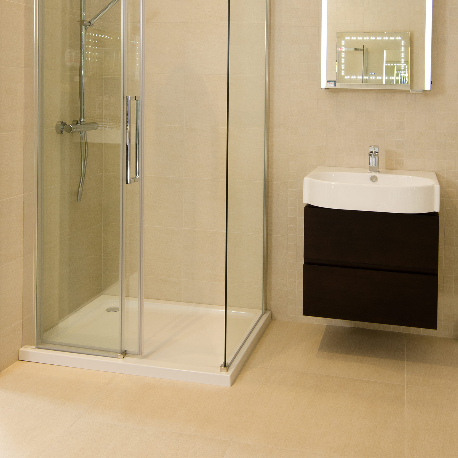 Shower Floor Tiles Which Why And How: Quattro Beige Wall/Floor Tile