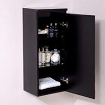 Black Storage Units