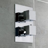 Square Mixer Showers