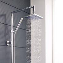 Rigid Riser Mixer Showers