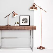 Brass & Bronze Floor Lamps