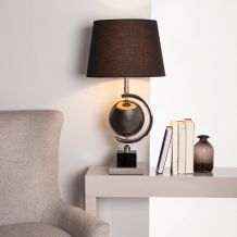 Chrome, Satin & Steel Table Lamps
