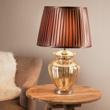 Crystal, Clear & Glass Table Lamps