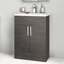 Grey Avola Vanity Unit