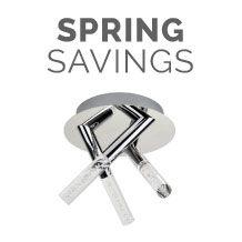 Spring Savings - Lighting