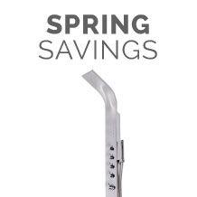 Spring Savings - Showers