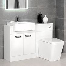Basin And WC Combination Units