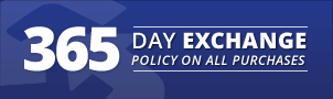 365 Day Exchange Policy