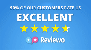 90% of our customers rate us excellent