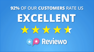92% of our customers rate us excellent