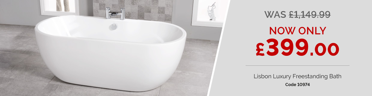 Lisbon Luxury Freestanding Bath