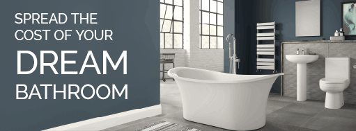 spread the cost of your dream bathroom