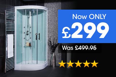 Aqualine Hydromassage Shower Cabin
