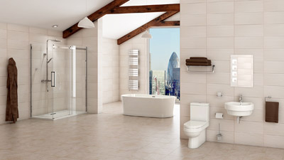 Hallmoor Brentwood Freestanding Bath Complete Bathroom Suite