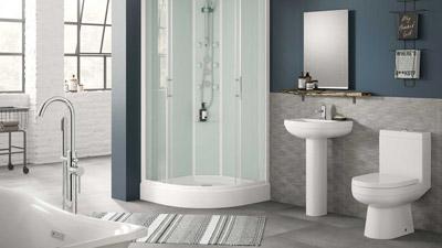 Aqualine Shower Cubicle Suite