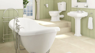 Victoriana Double Ended Freestanding Complete Bathroom Suite