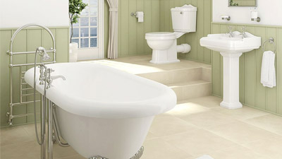 1760 Park Royal™ Double Ended Freestanding Bath Complete Bathroom Suite