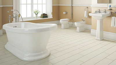 Park Royal Freestanding Bath with High Level Toilet Complete Suite