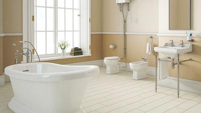 Park Royal Slipper Bath with High Level Toilet Complete Suite