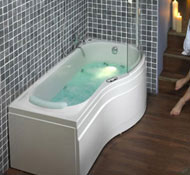 Whirlpool Shower Bath