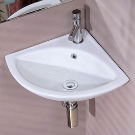 Corner Cloakroom Basins