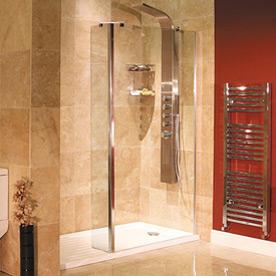 Frameless Walk In Recess Shower Packs