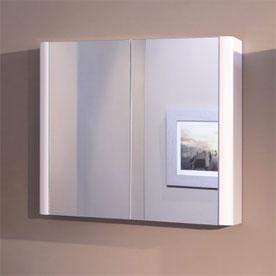 2 Door Mirrored Cabinets