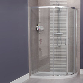Offset Shower Cubicles