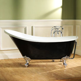 Black Freestanding Baths