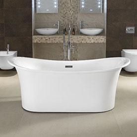 Freestanding Baths Without Feet