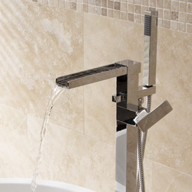 Freestanding Waterfall Taps