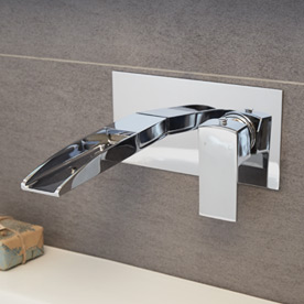Wall Mounted Waterfall Taps