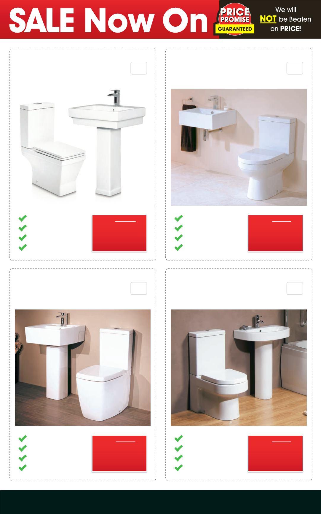 Better bathrooms sale - Better Bathrooms April Showers Sale Deal Sheet Page 3