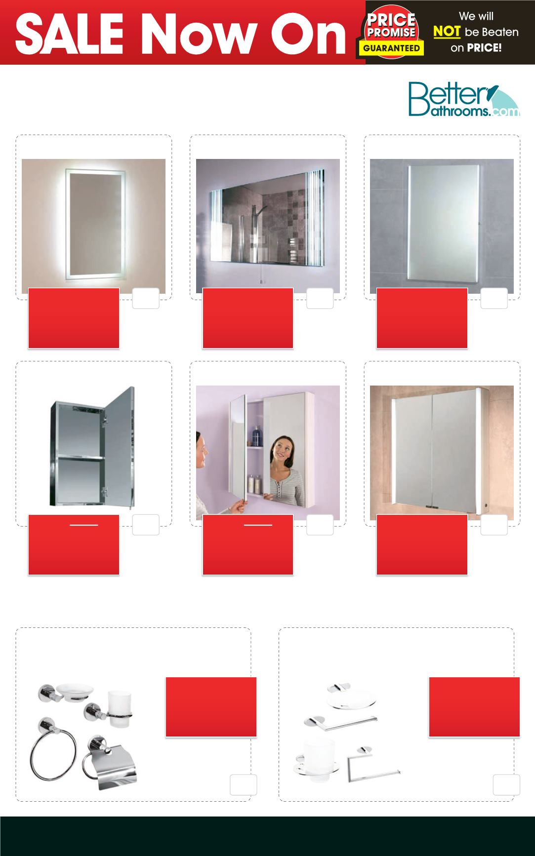 Better bathrooms sale - Better Bathrooms April Showers Sale Deal Sheet Page 9