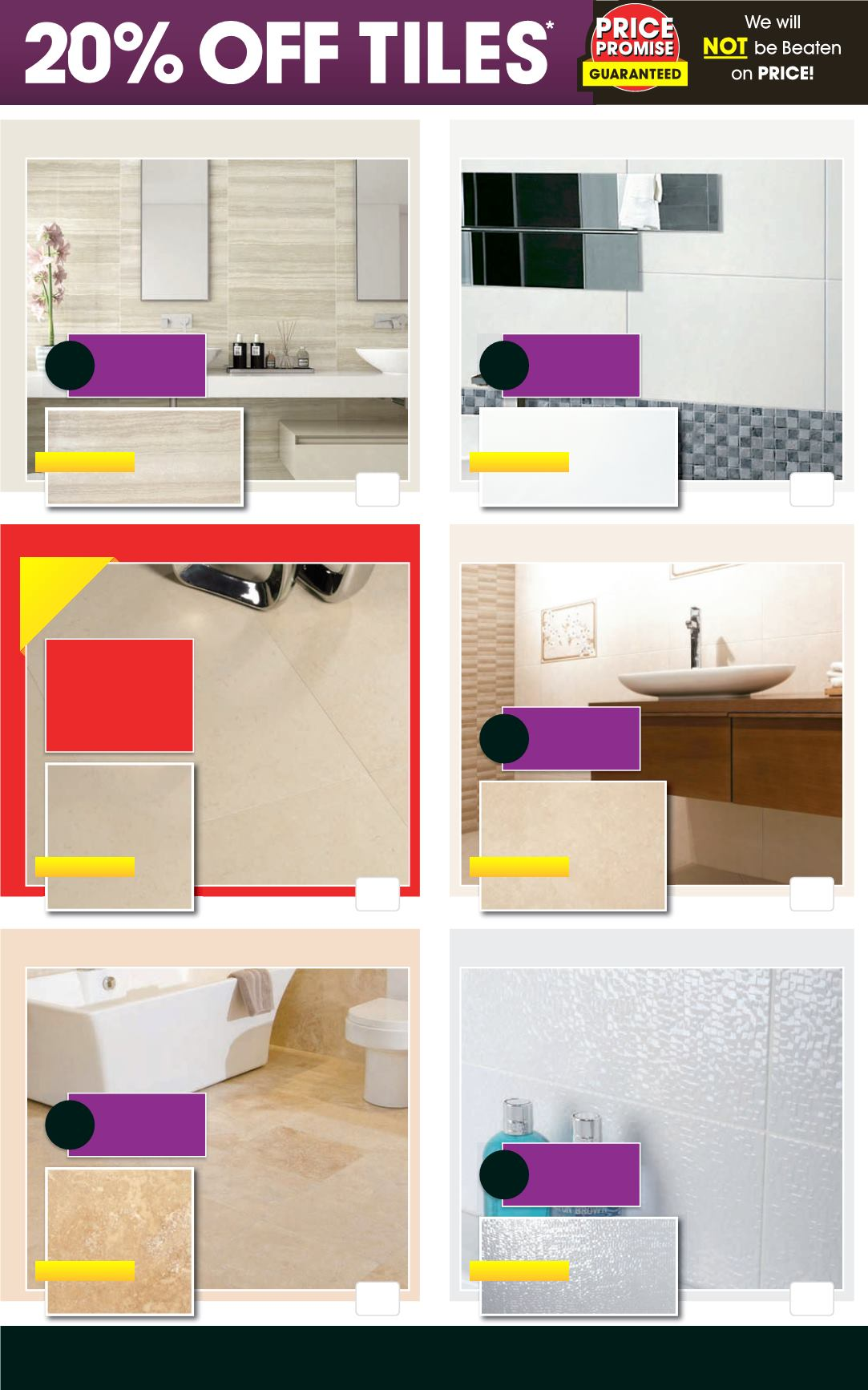 Better bathrooms sale - Better Bathrooms April Showers Sale Deal Sheet Page 14