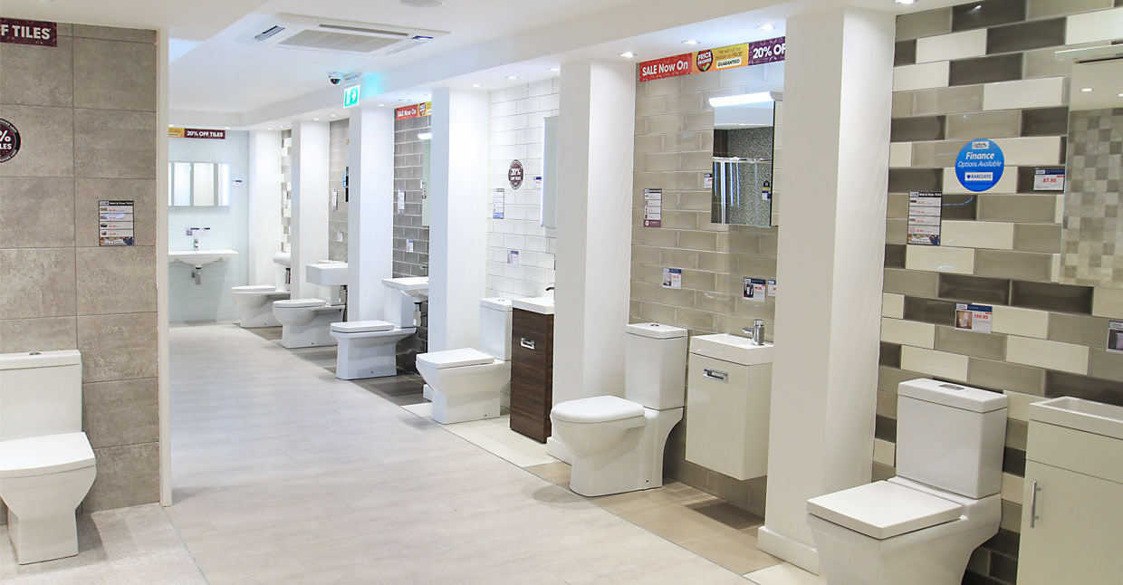 Better Bathrooms Slough Showroom. PrevNext
