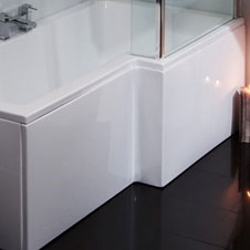 White Bath Panels