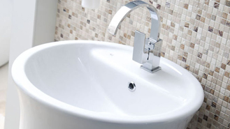 Or, If You Need More Floor Space In Your Family Bathroom, Try Measuring Up  A Corner Wash Basin Instead. From Ceramic Bowls To Black Glass, ...