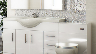 Charmant ... Of Fitted WC Units And Fitted Vanity Units. These Are Ideal For People  Who Want To Make The Most Of Every Inch Of Space They Have, Including That  Area ...