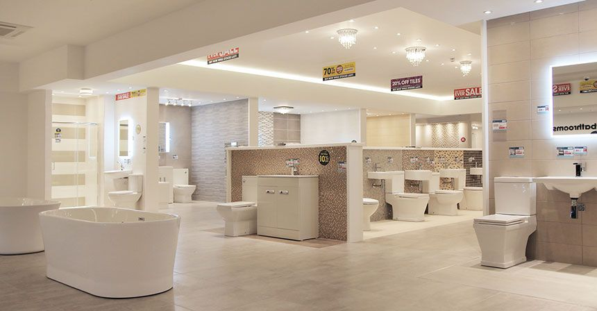 Better bathrooms birmingham showroom Bathroom design and supply ltd bolton