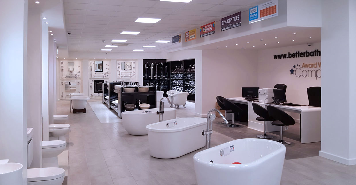 Superior Better Bathrooms Slough Showroom