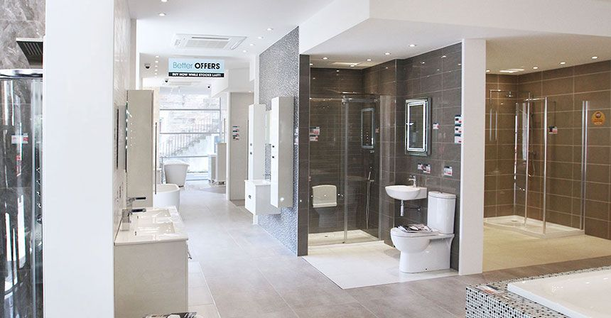 Better Bathrooms Edinburgh Showroom