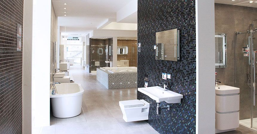 Better bathrooms showroom north circular for Bathroom design north london