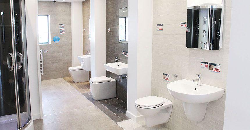 better bathrooms edinburgh showroom. Black Bedroom Furniture Sets. Home Design Ideas