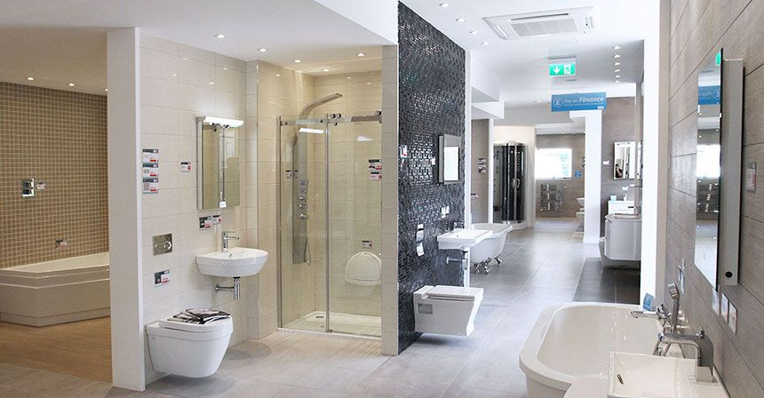 Better bathrooms glasgow showroom for Bathroom showrooms