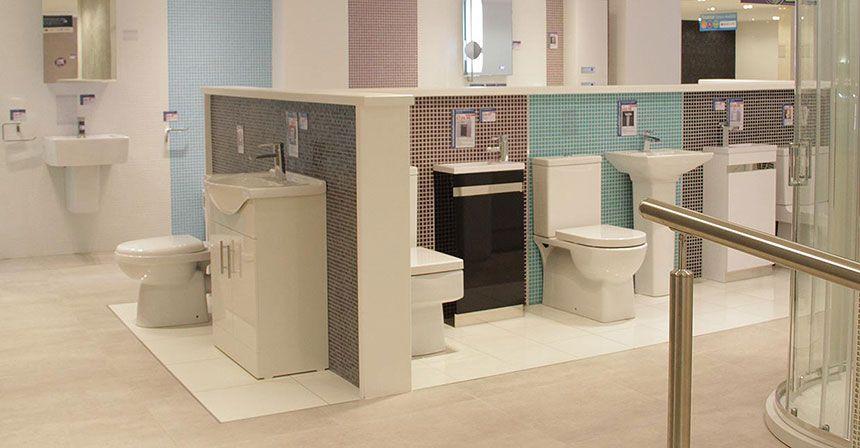 better bathrooms leicester showroom. Black Bedroom Furniture Sets. Home Design Ideas