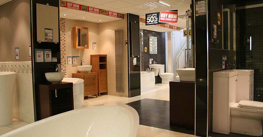 better bathrooms manchester showroom. Black Bedroom Furniture Sets. Home Design Ideas